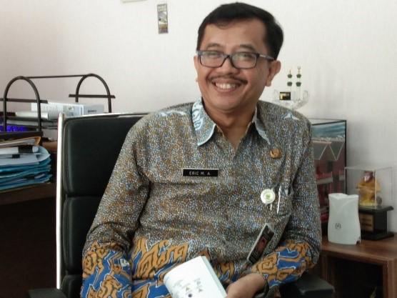 Kepala Disdagin Kota Bandung Eric Mohamad Atthauriq