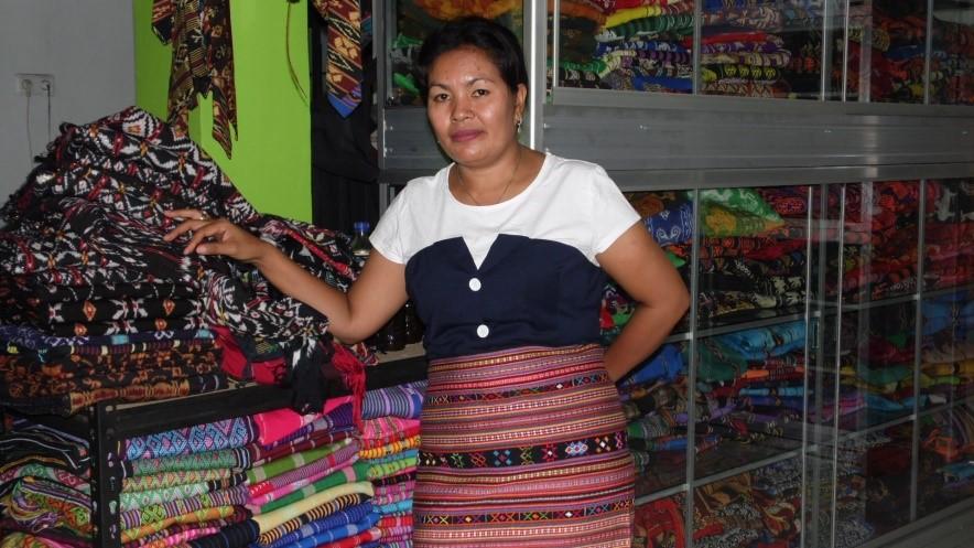 Nofer Linda Kanni, Penenun dan Pengembang Kain Tenun Ikat asal Sabu Raijua