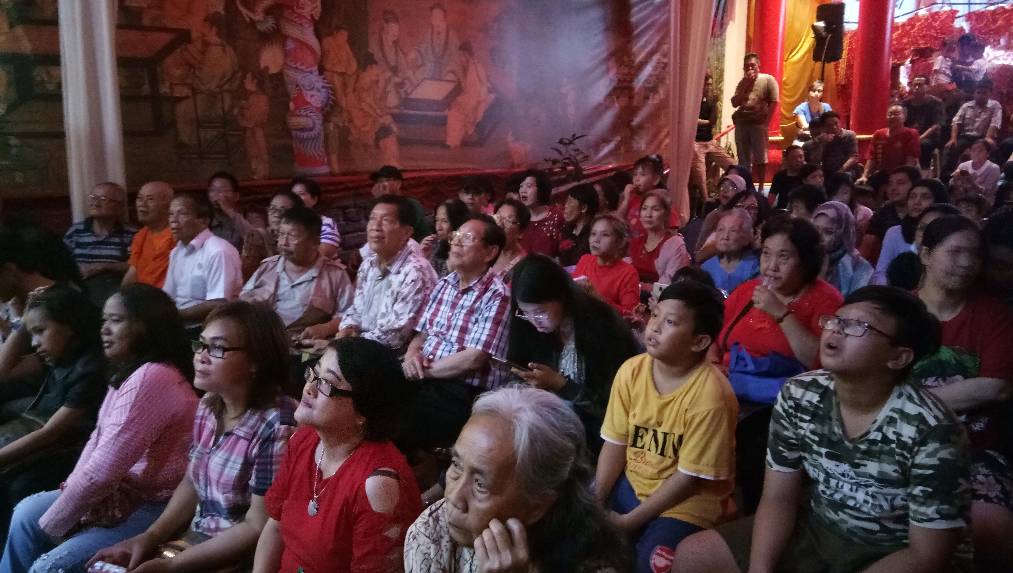 Penonton Wayang Potehi