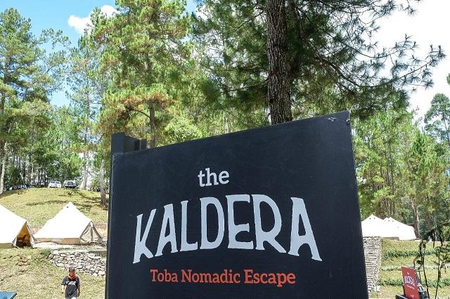 The Kaldera Toba Nomadic Escape, Atraksi Baru Danau Toba