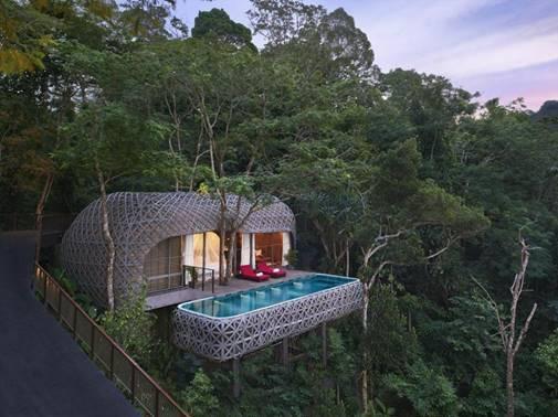 Vila 'sarang burung' Keemala Hotel - Agoda Rekomendasikan Enam Destinasi 'Wild Holiday'