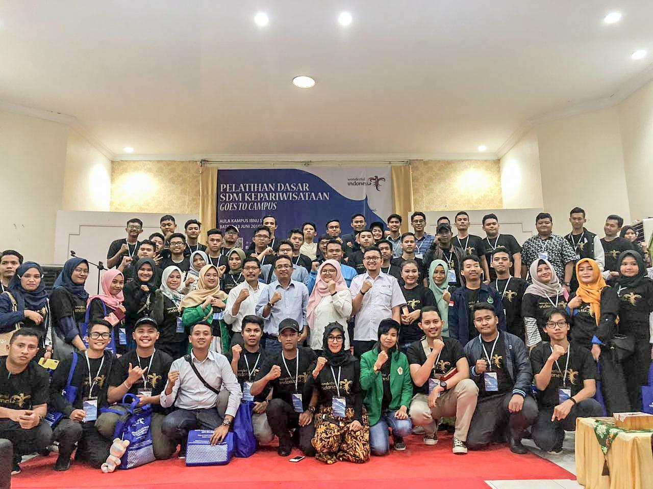 Pelatihan Tourism Goes to Campus, Dukung Sektor Pariwisata Batam Jadi Primadona