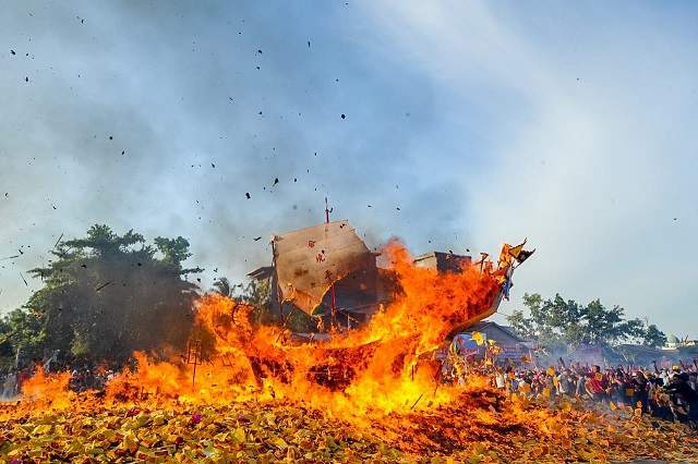 Festival Bakar Tongkang Datangkan Manfaat Ekonomi Bagi Masyarakat Bagansiapiapi