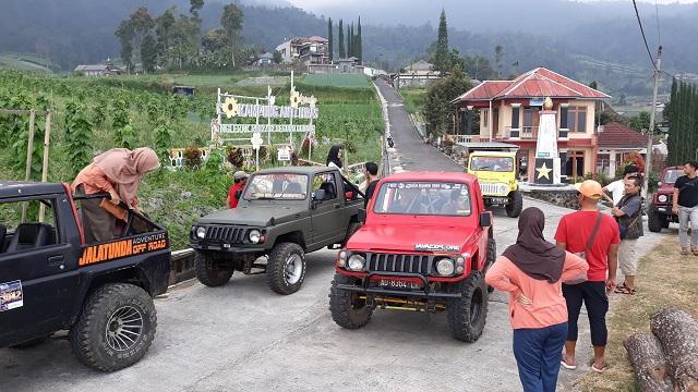 Off Road Lereng Gunung Lawu, Lintas Peradaban Kuno dan Memicu Adrenalin