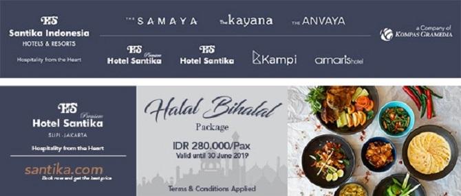 Promo Menginap & Paket Halal Bi Halal di Hotel Santika Premiere Slipi Jakarta