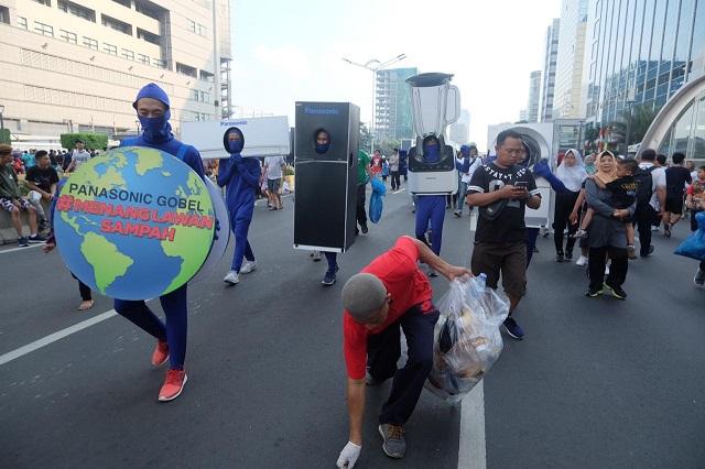 Panasonic Kembali Ajak Masyarakat Indonesia Untuk Menang Melawan Sampah