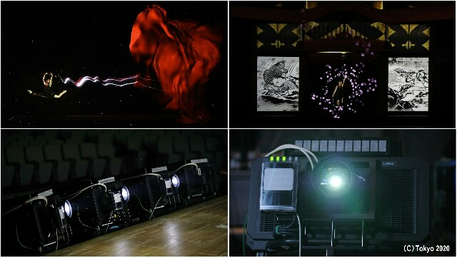 Panasonic's Real-time Tracking and Projection Mapping Compatible Projector