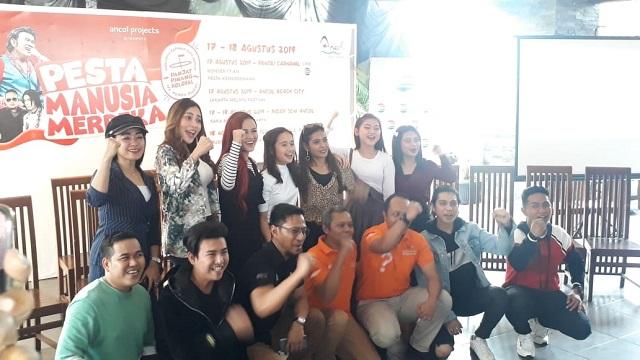 Rayakan Hari Kemerdekaan di Ancol
