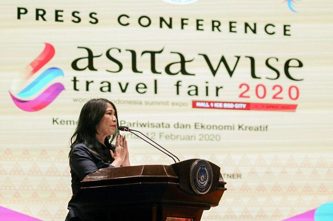 Wamenparekraf Apresiasi ASITA WISE Travel Fair 2020
