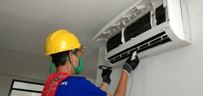 Panasonic Revitalisasi Ribuan AC Guna Pastikan Kebersihan Udara di Pusat Karantina Covid 19 Wisma Atlet Kemayoran