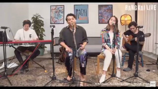 Musisi Didorong Tetap Berkarya Lewat Konser Virtual