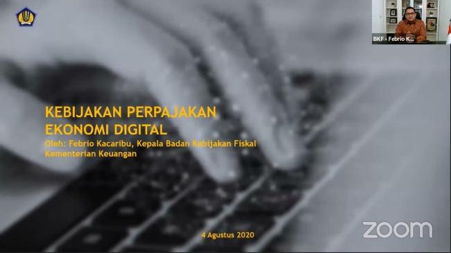 Usulkan Kebijakan Pajak PMSE, Kemenparekraf Gelar Diskusi Daring Regulasi Ekonomi Digital